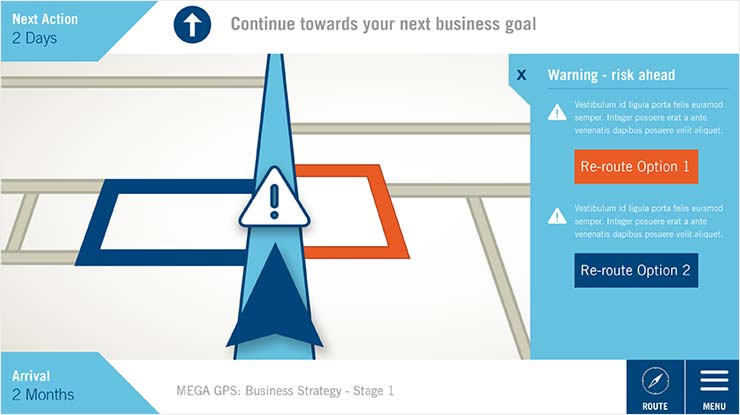 Why not using a Business GPS to navigate through the new digital landscape?