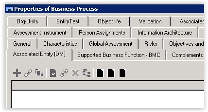 Connect Disabled for Business Process to Entity (DM)