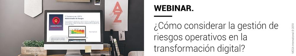 ¿Cómo considerar la gestión de riesgos operativos en la transformación digital?